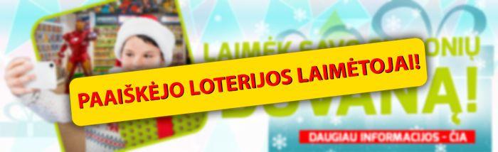 loterijos laimėtojai